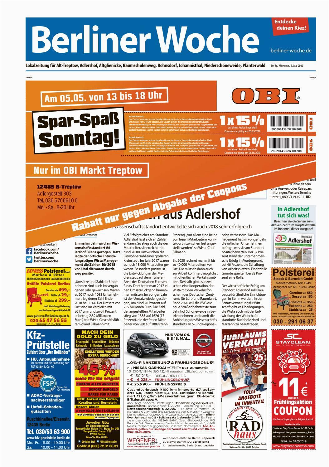 Bad Und Küchenfarbe Obi L13 Treptow by Berliner Woche issuu