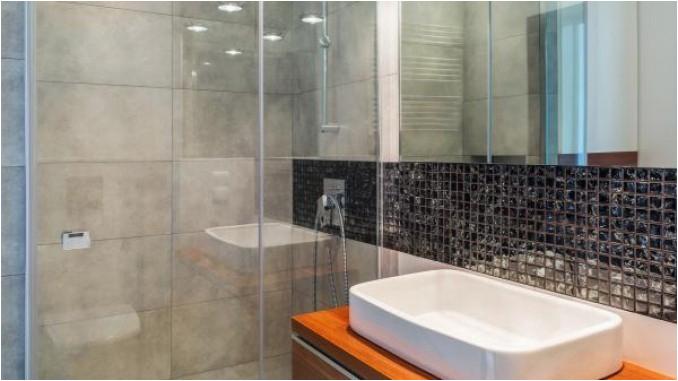 Kalk an Duscht ue r aus Glas entfernen