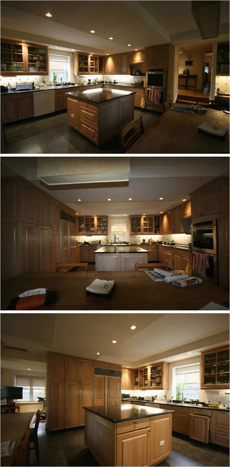 vorher renovierung dunkles interieur küche
