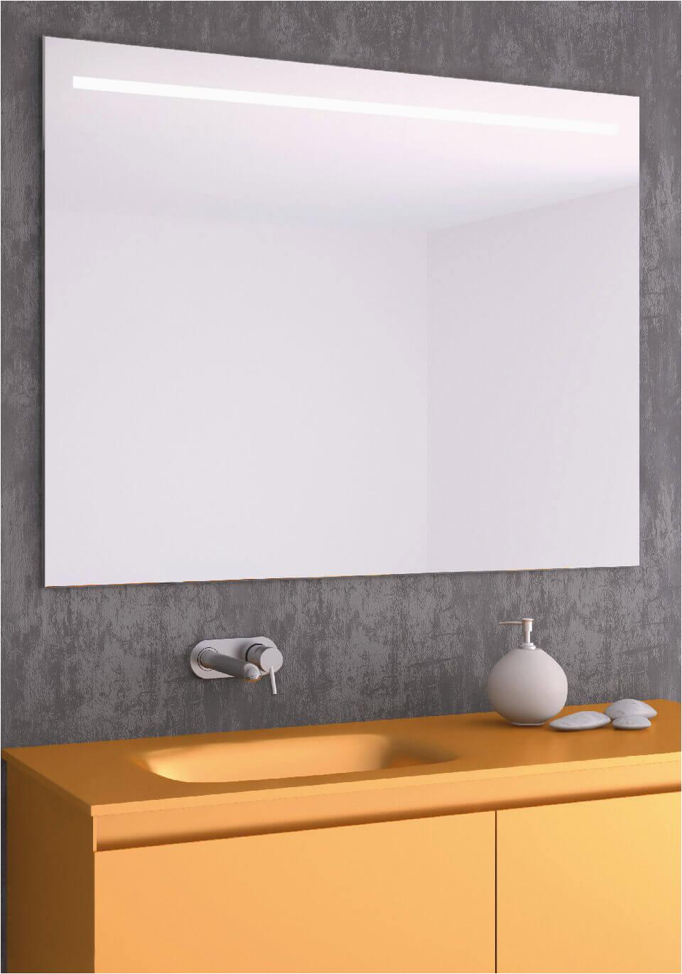 badspiegel beleuchtet led hinterleuchteter posta