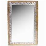 orient spiegel wandspiegel abid 90cm gross natur braun grosser marokkanischer flurspiegel mit holzrahmen orientalisch verziert orientalischer vintage badspiegel ohne beleuchtung orientalische deko 0 150 0E