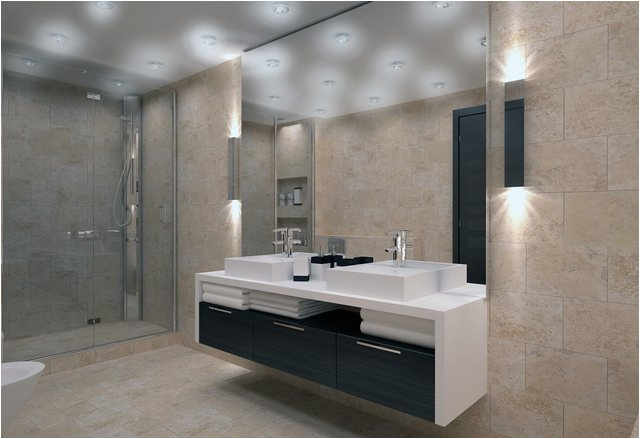 belysning i badrum