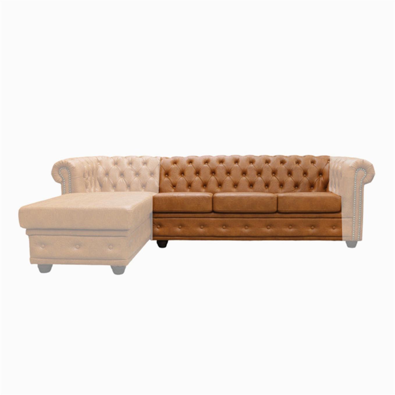 Chesterfield sofa Aus Stoff York Chesterfield Couchen Zwischenelement