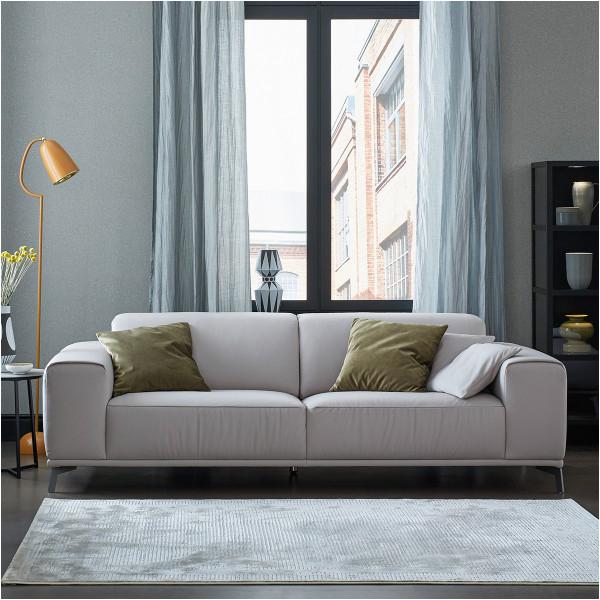 1 Sofa Neo 3002 Life Line Light Grey 600x600