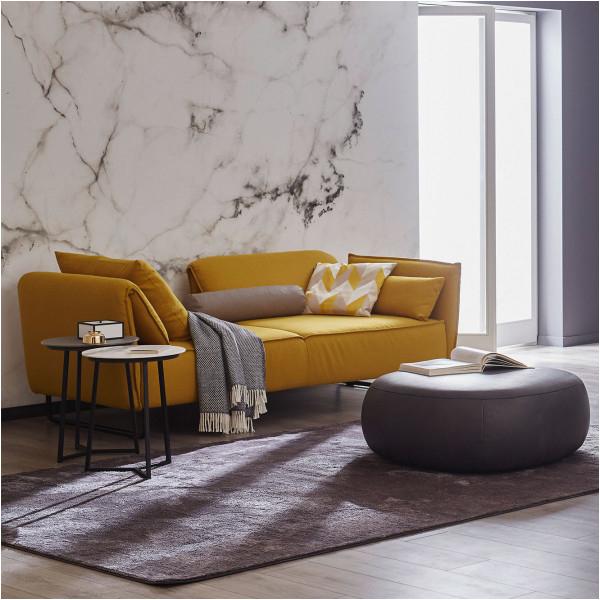 1 Sofa Vision 2845 Stoff Florida Safran 600x600