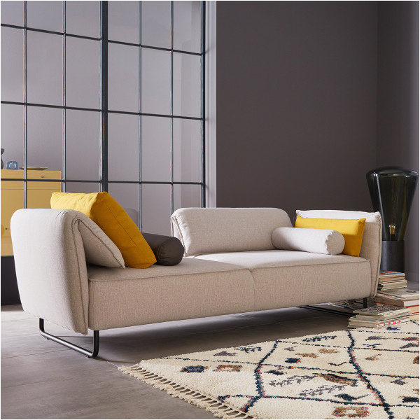 1 Sofa Vision 2835 Stoff Florida Light Grey 600x600