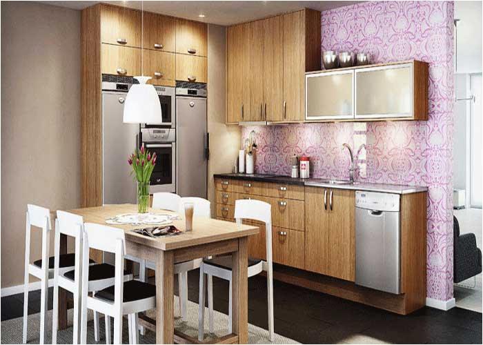 Englisch Küchenschrank Kuchen Tapeten Modern