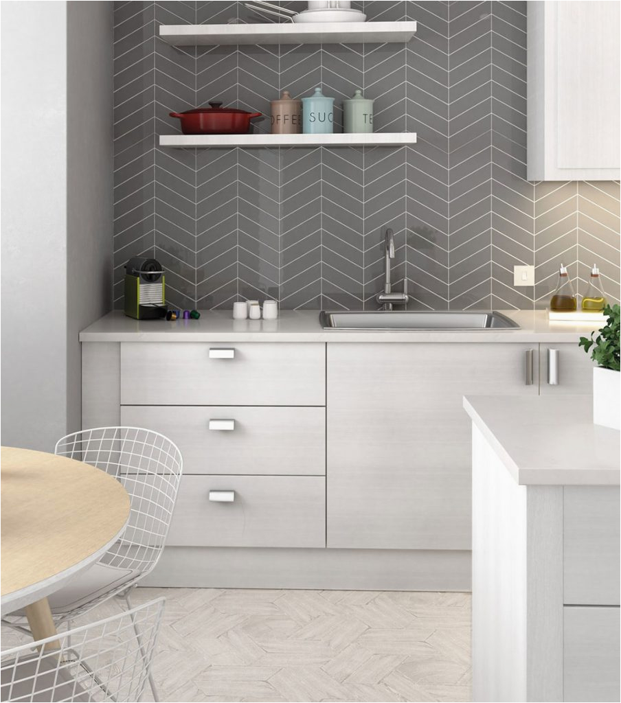 Fliesenspiegel Graue Küche Fliesen Kuche Grau