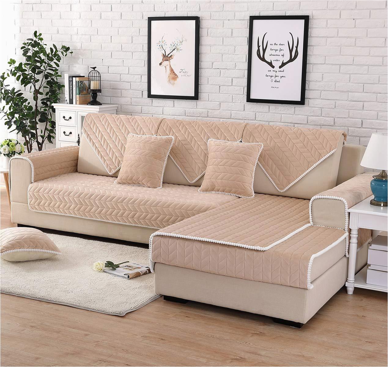 Full Cushion sofa Design Qwer sofabezug L Shape Für Haustiere sofa Anti Rutsch