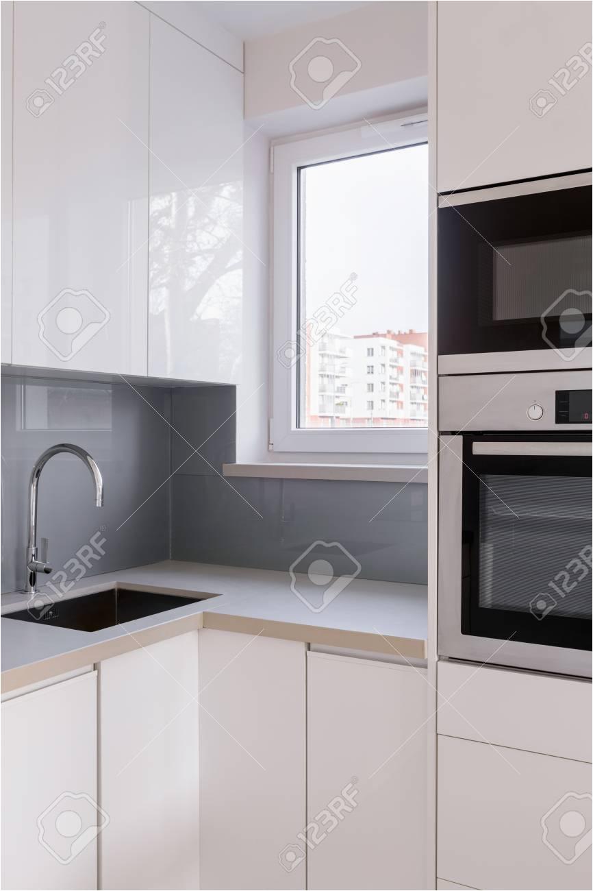 Hell Graue Küche Fliesen Kuche Grau