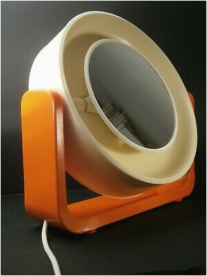 70er Jahre Allibert Doppel Leucht Spiegel W 93 Design MoMA