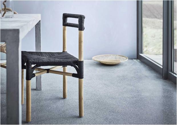 ikea viktigt stuhl schwarz