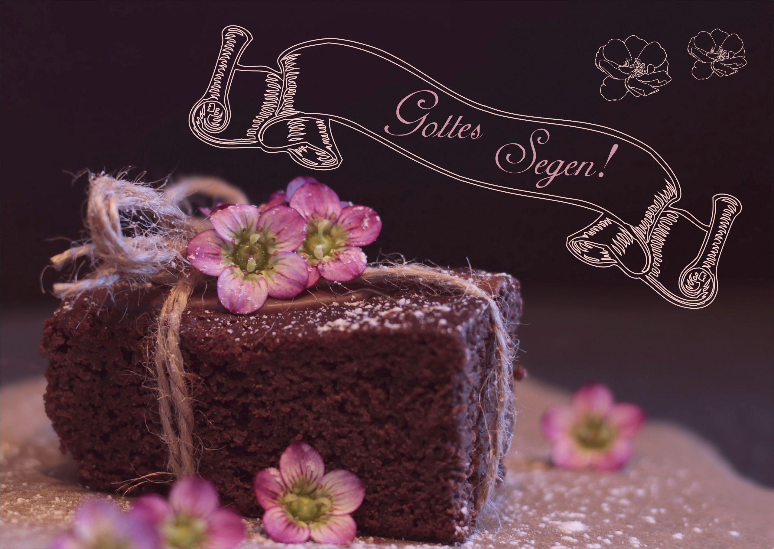 Kuchef Postkarte Kuchen