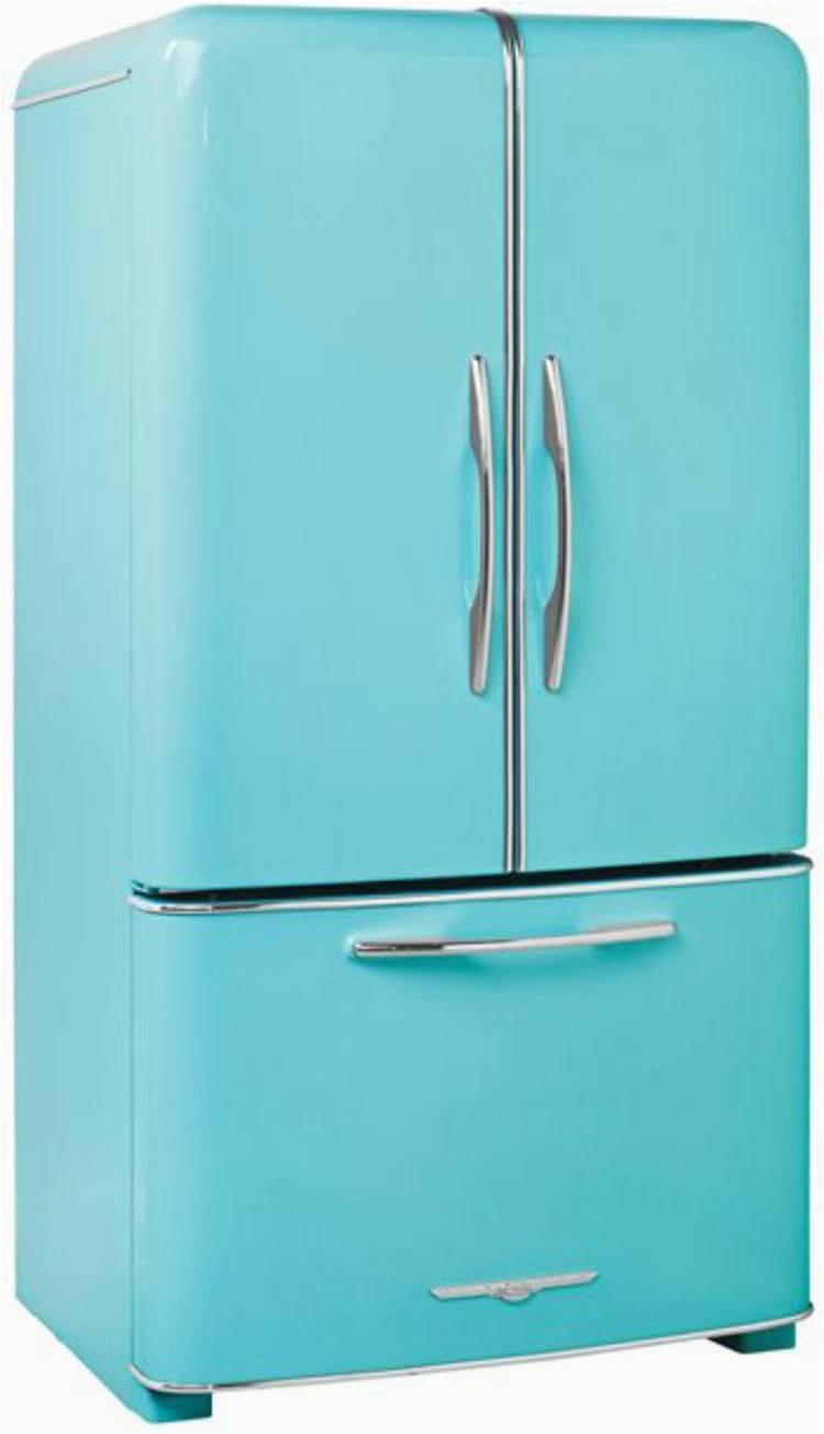 retro hladnjaci su vrlo trendi design ideen von kuchenideen kleine kuche of kuchenideen kleine kuche