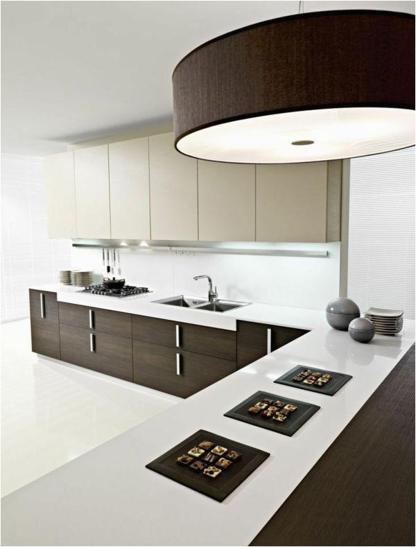 k C3 BCchenlampen k C3 BCchenbeleuchtung modern design decke led schwarz
