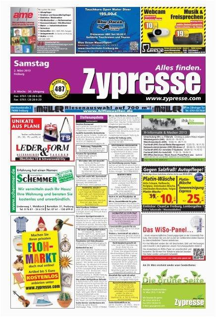 fr samstag page 1 zypresse
