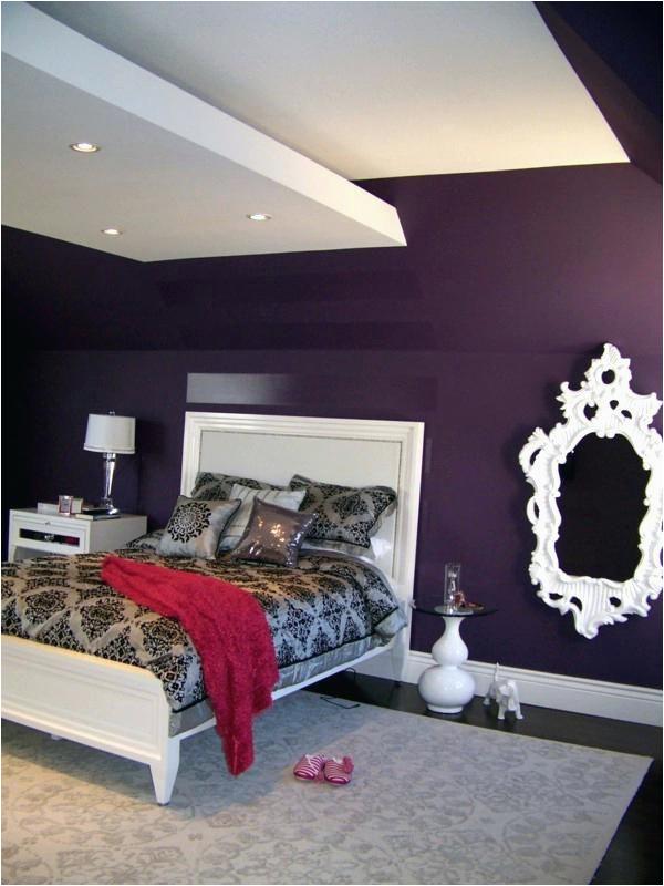 Lila Schlafzimmer Deko Schlafzimmer Wandfarbe Ideen