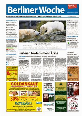 Maden Auf Dem Küchenboden L11 Friedrichsfelde Karlshorst by Berliner Woche issuu
