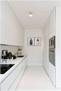 28d5926b8a6d6e1761d3c546f ba white galley kitchens modern white kitchens