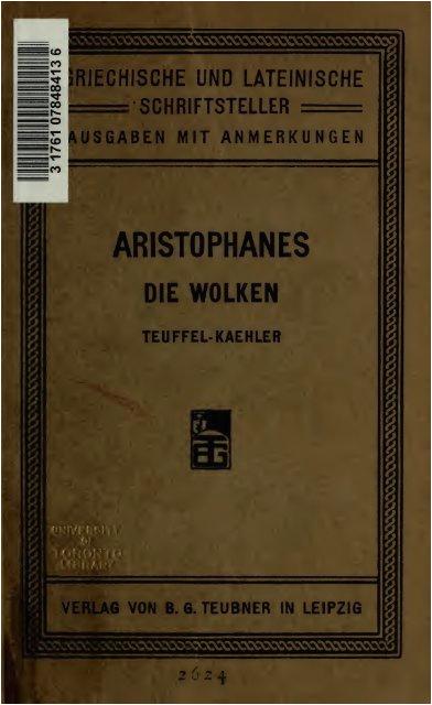 Moderne Küche Leipzig Die Wolken Des Aristophanes