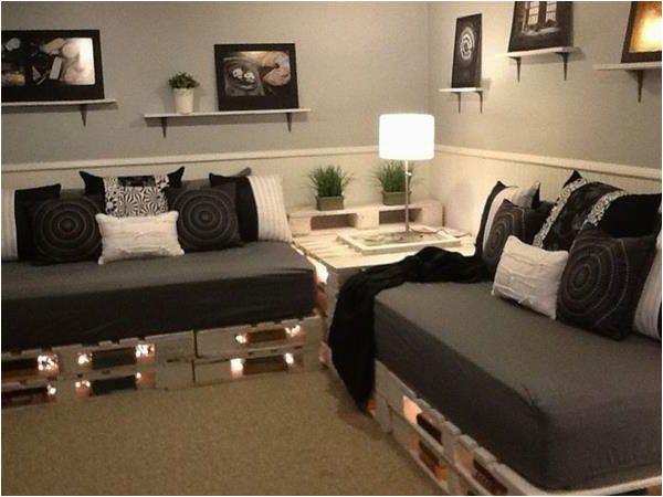 Paletten sofa Wohnzimmer sofa Aus Paletten Eine Perfekte Vollendung Des Interieurs
