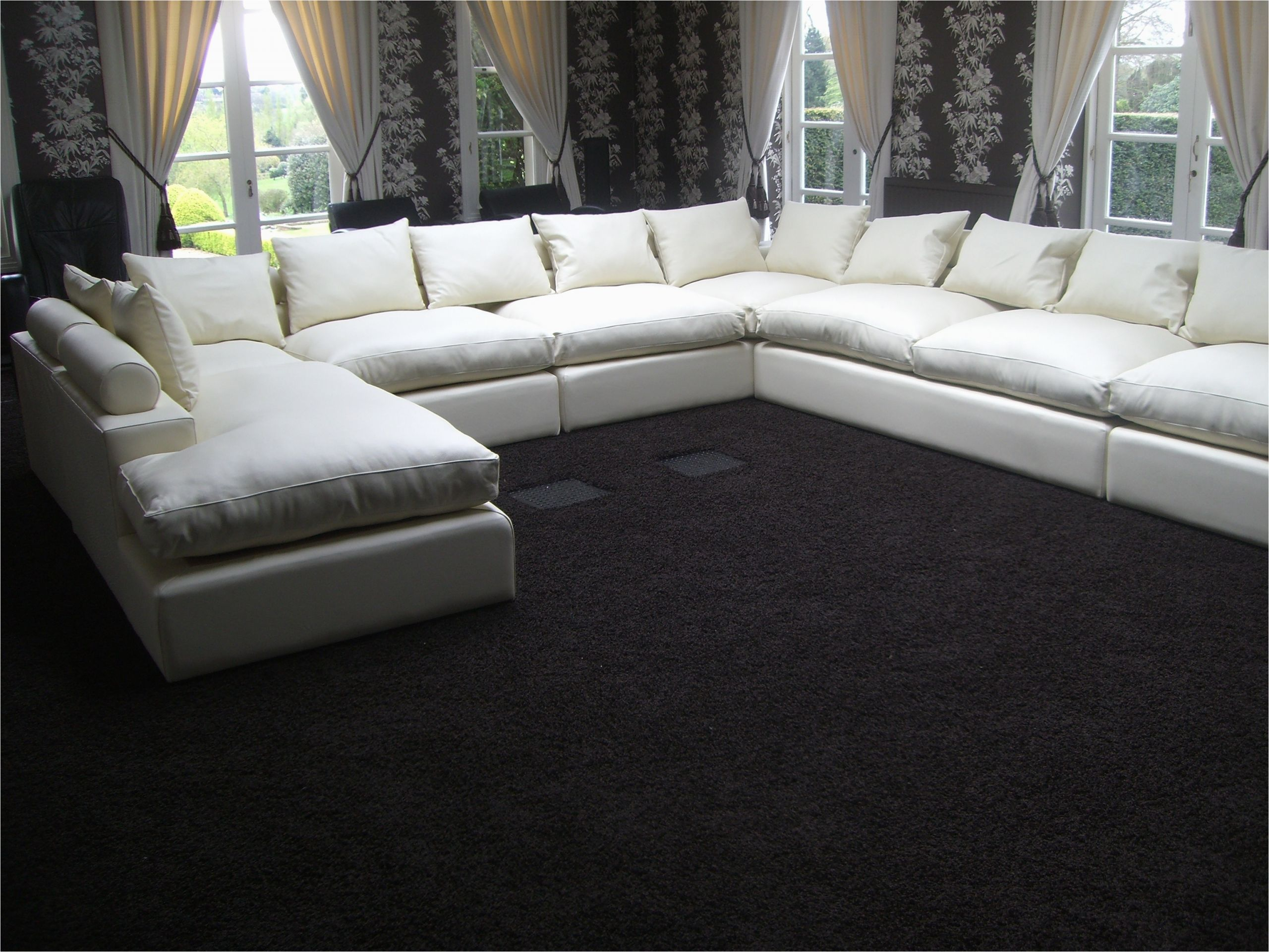 current large u shaped sofa fjellkjeden with regard to big u shaped sectionals