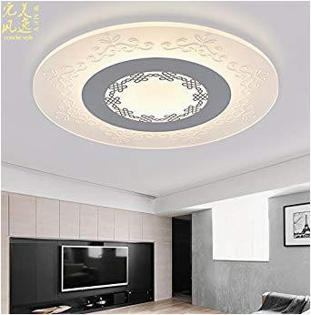 Schlafzimmer Lampe Warmes Licht Ultra Dünne Neue Chinesische Deckenleuchte Led