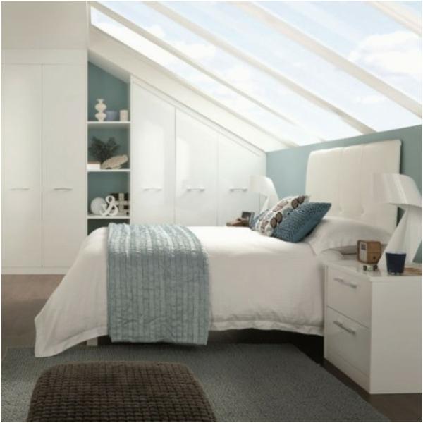 super coole schränke für dachschräge im schlafzimmer