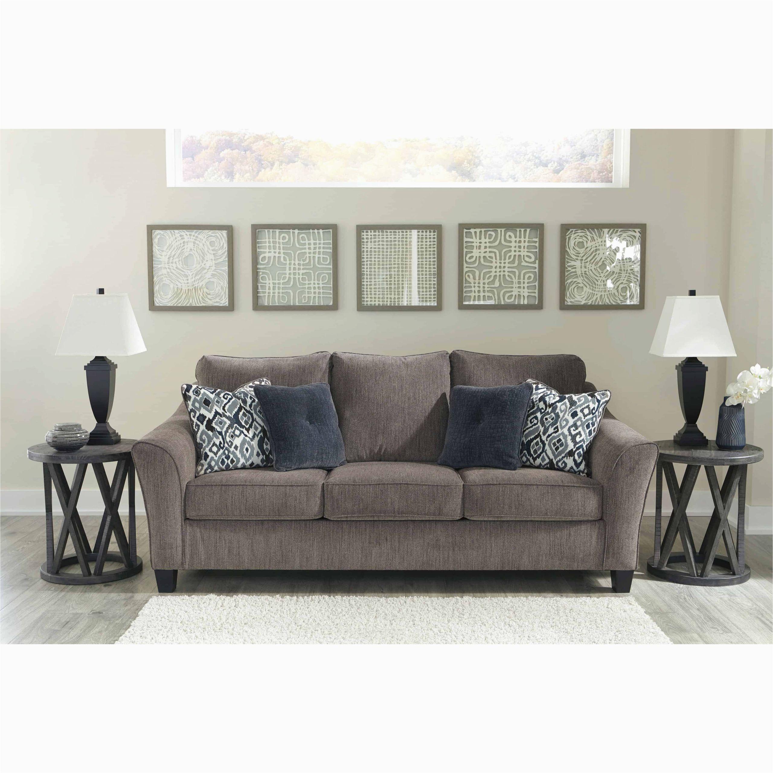 Signature Design by ashley Queen Sleeper sofa Nemoli Slate Queen Sleeper sofa