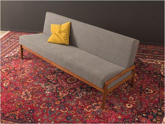 sofa aus teak 1960er 2