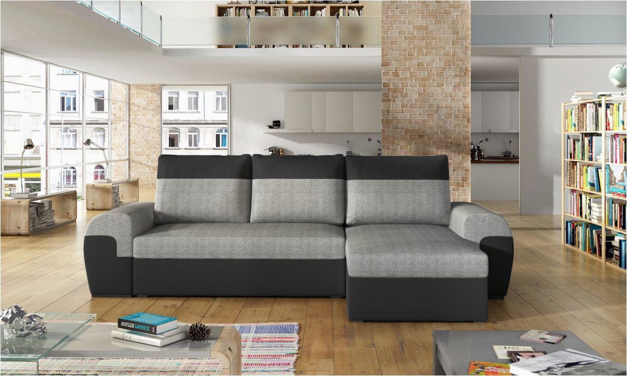 ecksofa sofa paros mit schlaffunktion schwarz hellgrau ottomane rechts