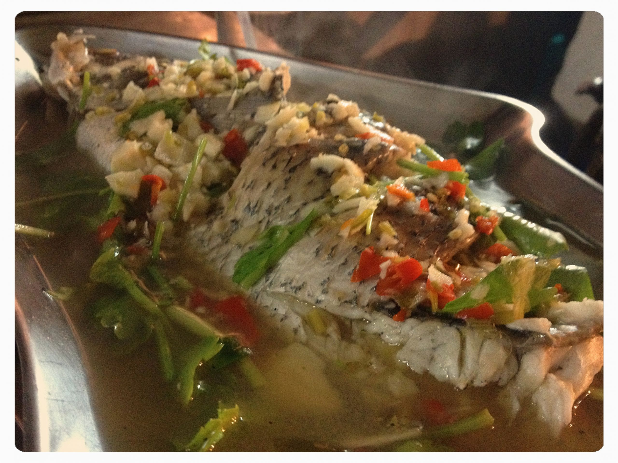 Thai Küche Steamed Fish Must Eat In Bangkok Thailand