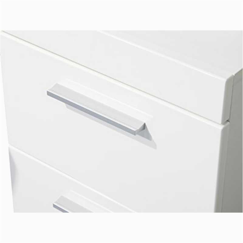 trendteam smart living badezimmer schrank kommode amanda 37 x 79 x 31 cm in weiß hochglanz mit schubkasten 3 800x800