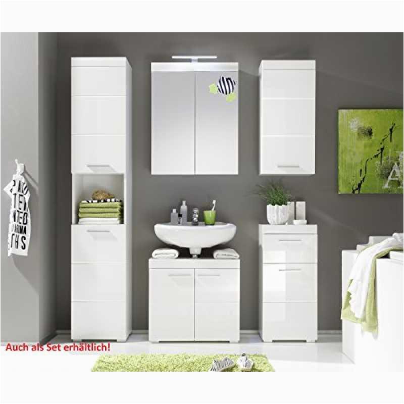 trendteam smart living badezimmer schrank kommode amanda 37 x 79 x 31 cm in weiß hochglanz mit schubkasten 2 800x800