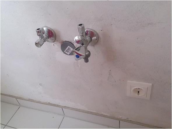 wie geht das mit dem wasserhahn und spuelmaschinenanschluss