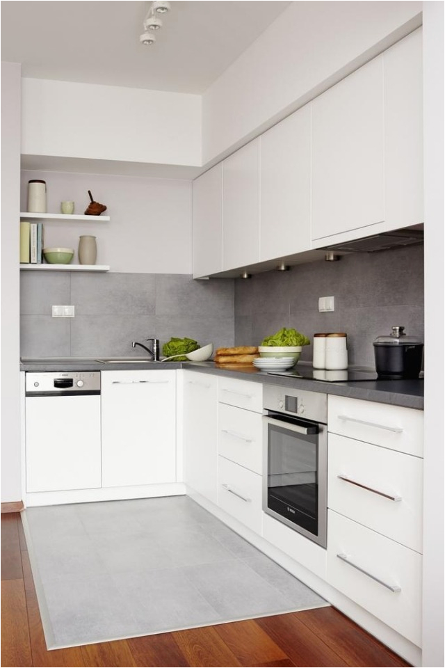 farbgestaltung weisse kuche wandfarbe ideen