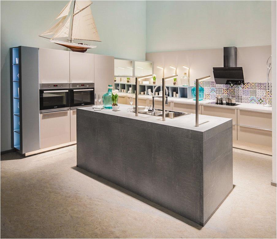 Zeitlose Küchen Farbe Beton Küche Preiswert Kaufen Nur Markenküchen Mit 5
