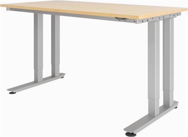 Ausklappbarer Tisch Weiß Schwerlast E Tisch