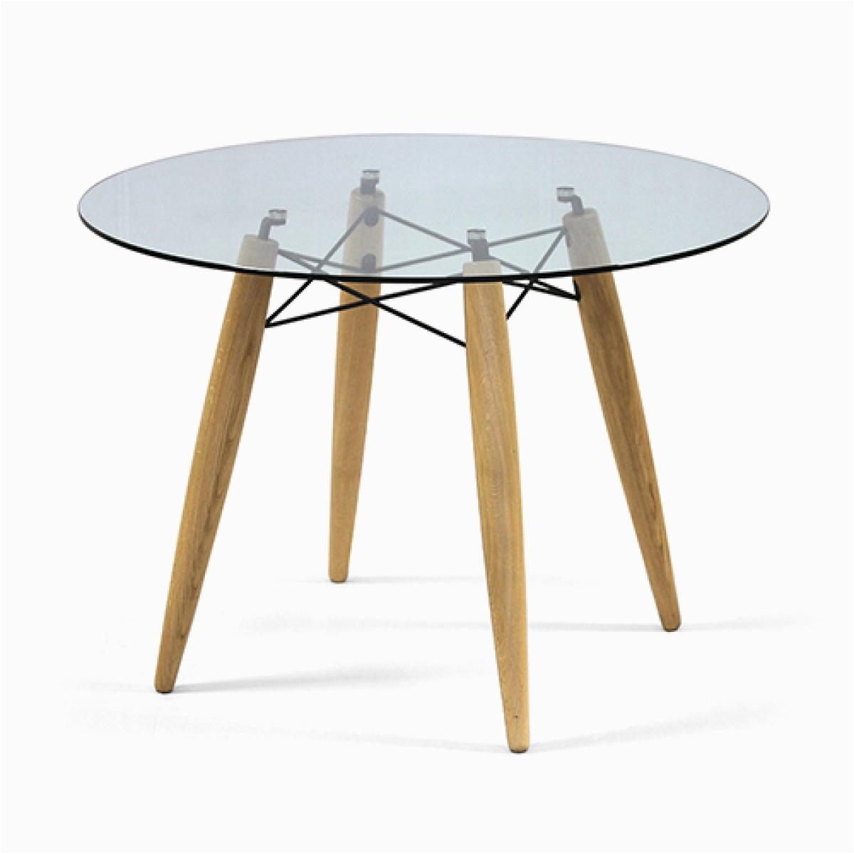 tisch rund glas tischplatte esstisch rund glas tisch tischplatte glas durchmesser 100 cm