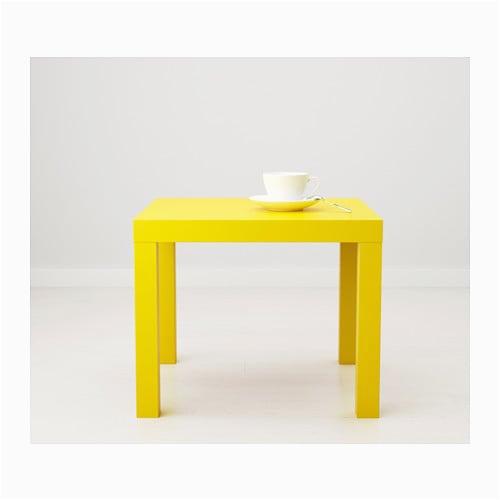 Gelber Küchentisch Ikea Lack Beistelltisch Gelb Ikea