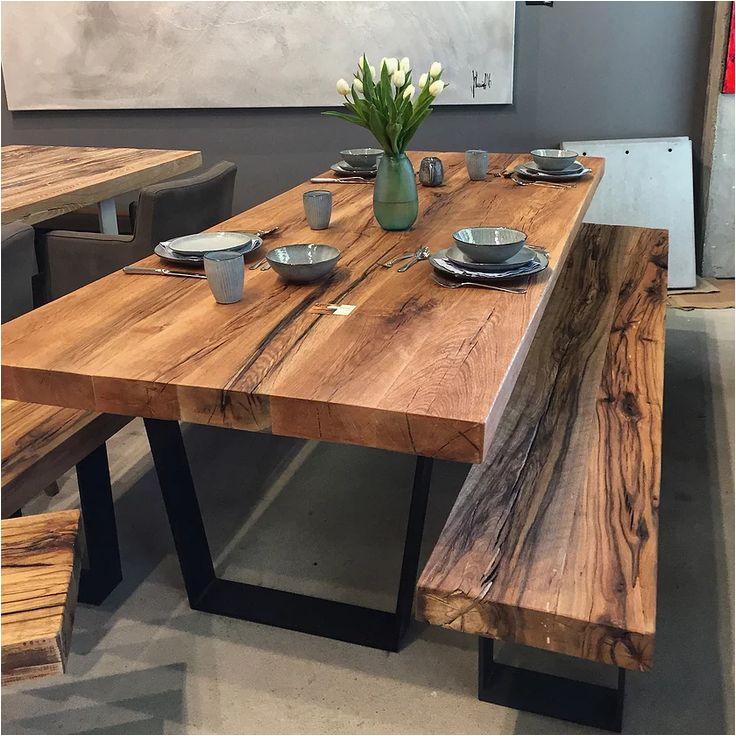 Hängelampe Esstisch Holz Die Besten 25 Esstisch Holz Metall Ideen Auf Pinterest