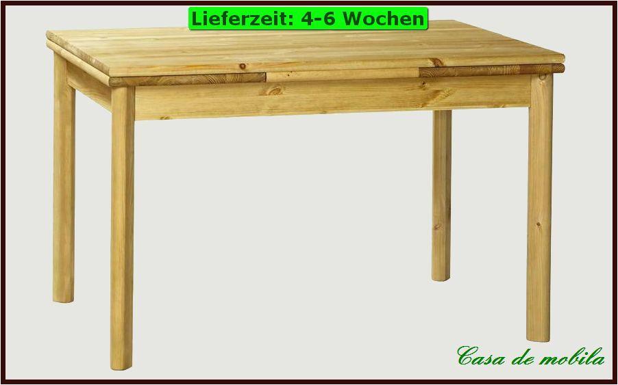 Höffner Küchentische Esstisch Eßtisch Esszimmer Küchen Tisch 120×80 Ausziehbar