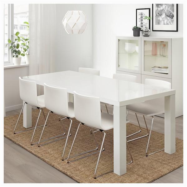 Ikea Tisch Weiß Metallbeine toresund Tisch Weiß Hochglanz Ikea