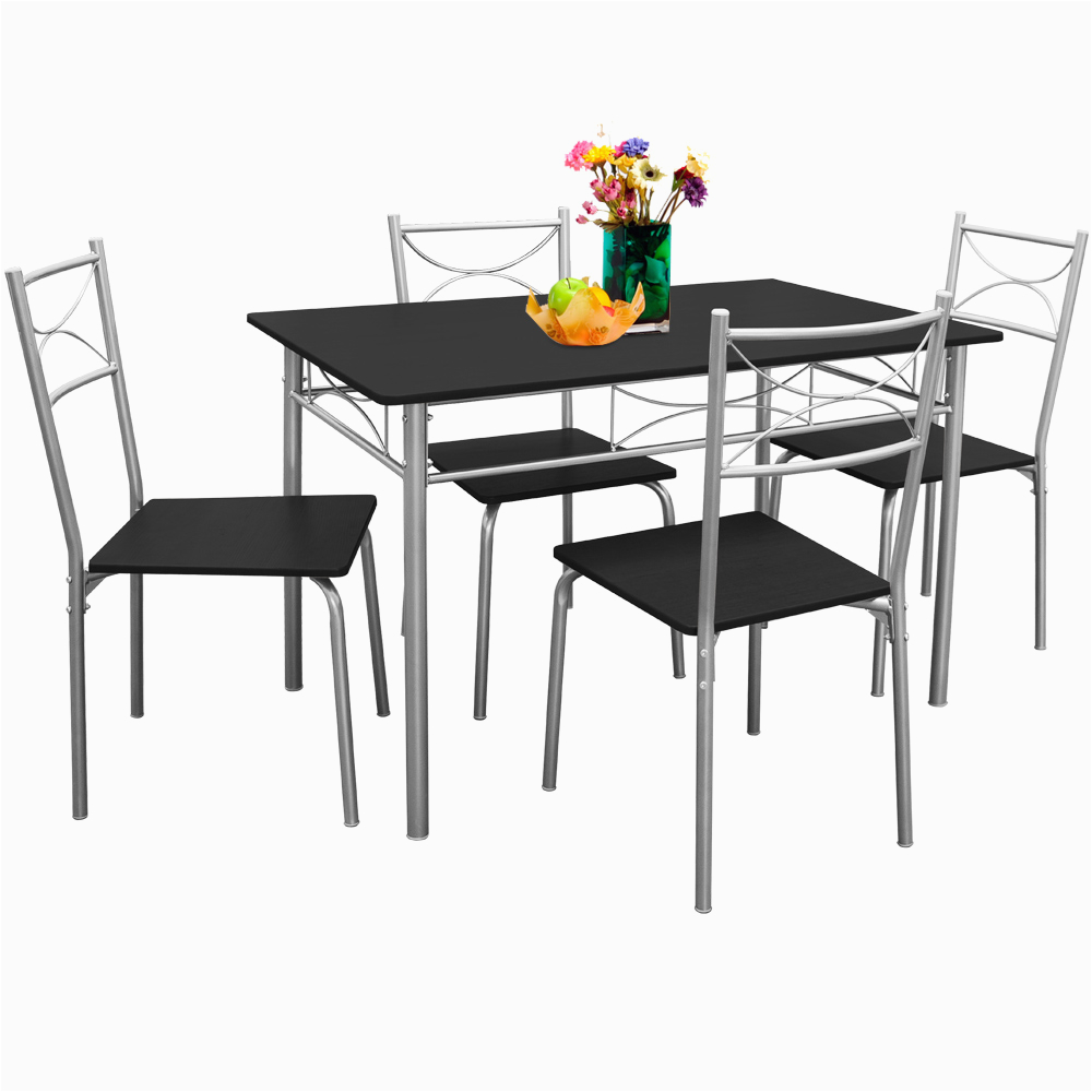 Küchentisch Mit 4 Stühlen Carma Essgruppe Esstisch Küchentisch Mit 4 Stühlen Sitzgruppe