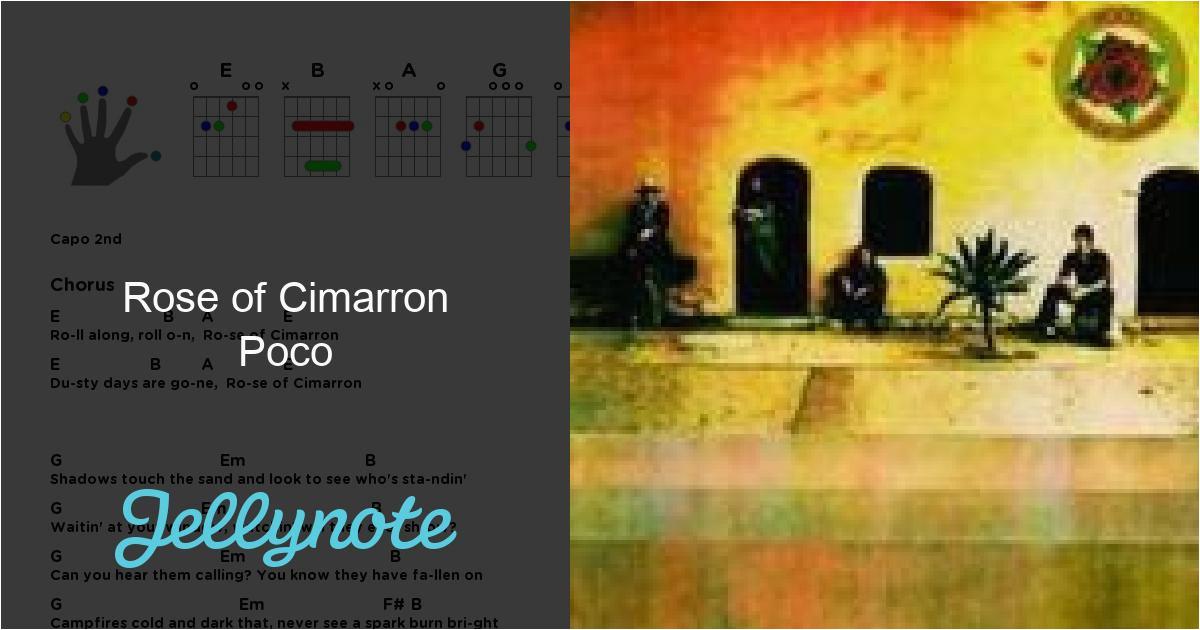 Poco Küchentisch Ausziehbar Lyrics Rose Of Cimarron Chords & Lyrics Poco