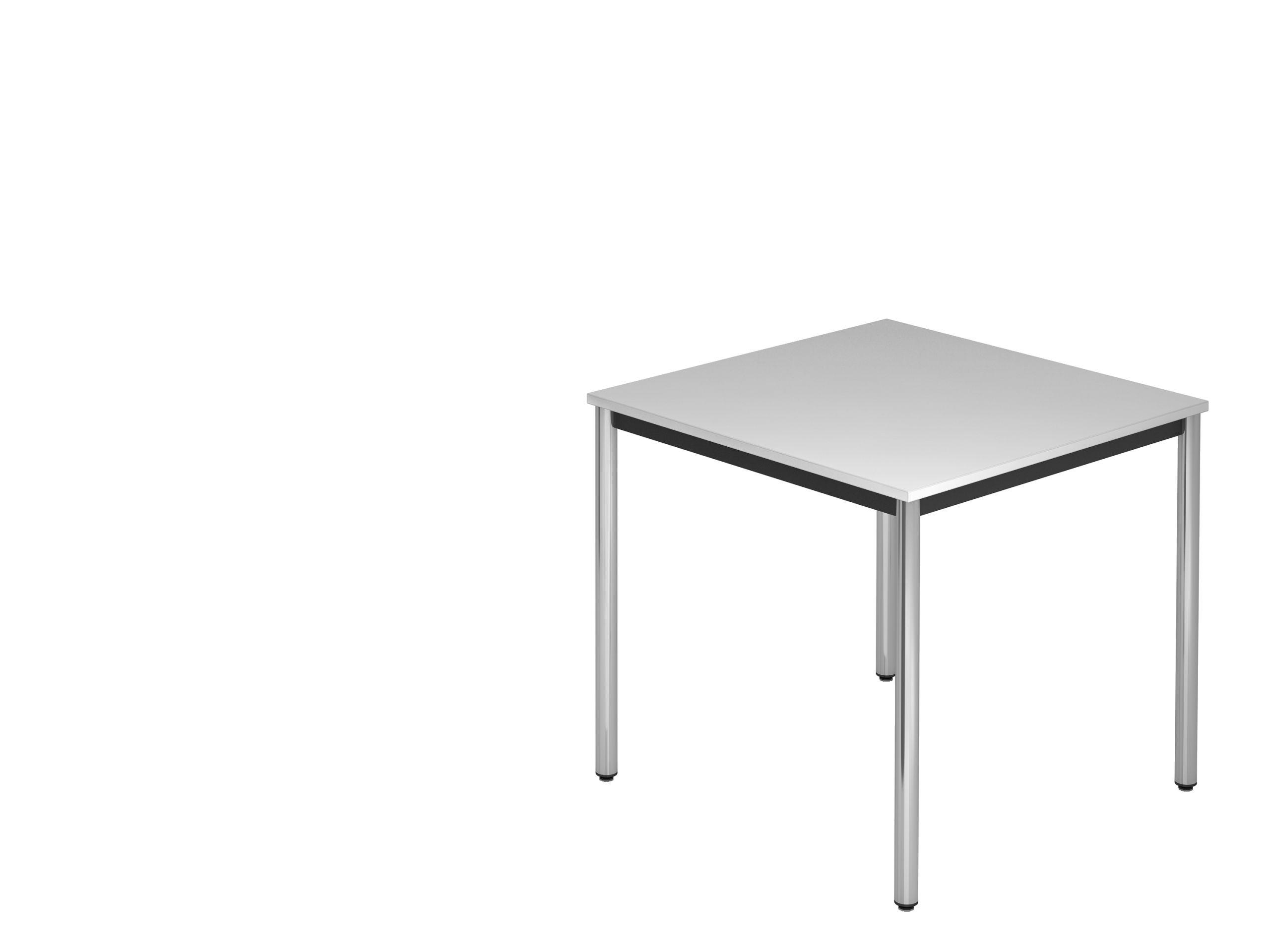 Tisch 80 X 80 Lichtgrau Beistelltisch 80 X 80 X 72 Cm Dekor & Gestell In Weiteren Ausfuehrungen