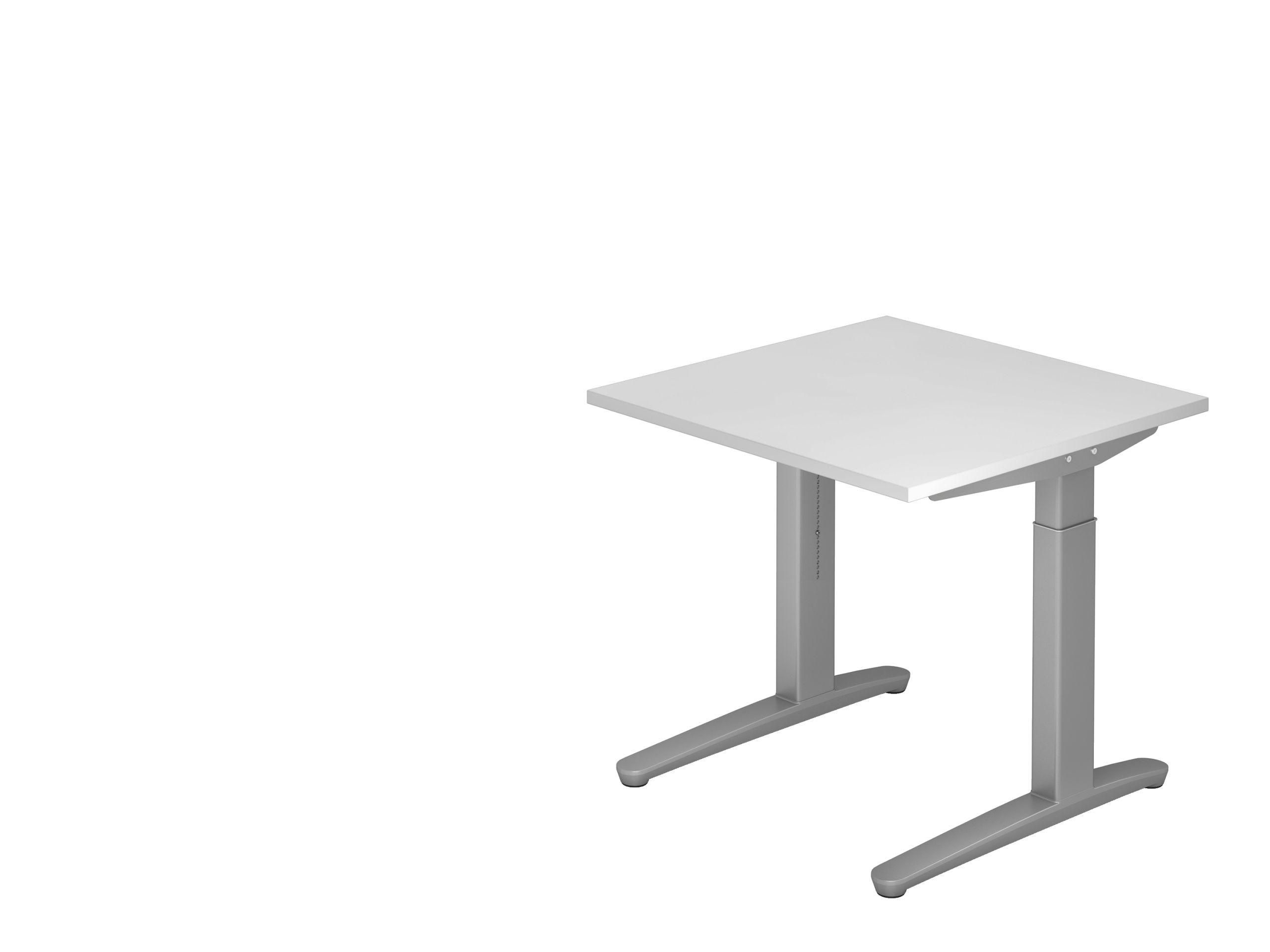 VXB08 Schreibtisch 80 x 80 bmv bueromoebel hoehenverstellbar ergonoimie nachhaltig amberg sulzbach tisch umbau schnelle lieferung 48 h 28