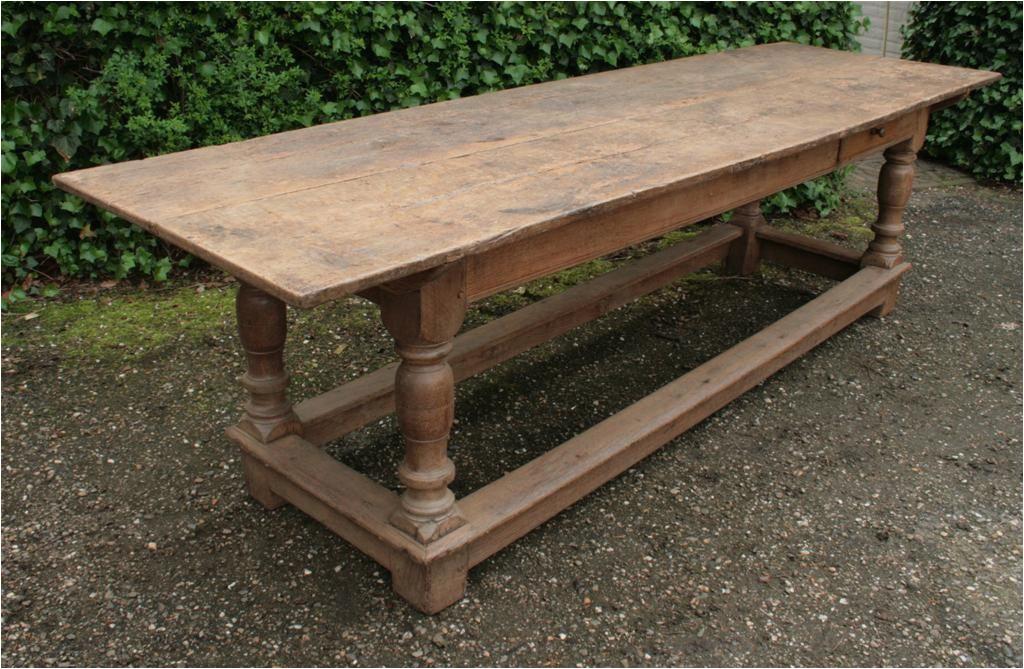 Tisch Rustikal Antik Antike Refektorium Tisch