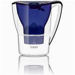 bwt tischwasserfilter penguin 2 7 l dunkelblau wasserfilterkanne mit 1 filter kartusche fuer magnesium mineralized water 0 150 0D
