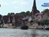 Adm Garagen Lauenburg Elbe Dampfeisbrecher Elbe In Lauenburg